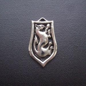 Őrszem medál , Ékszer, Nyaklánc, Medálos nyaklánc, Őrszem Avar-Griff  Oltalmazó szimbólum.  Az Univerzumban minden formának sajátos (egyedi) rezgése va..., Meska