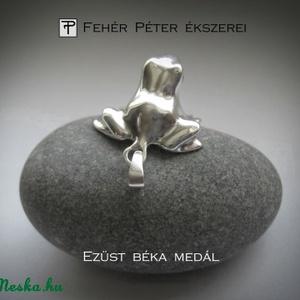 ISMÉT! Ezüst béka medál (egszeresz) - Meska.hu
