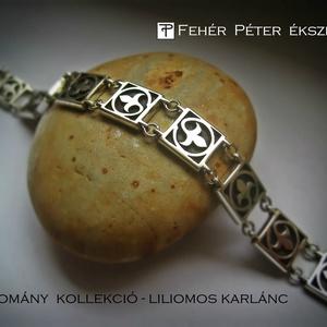 Liliom karlánc 925 ezüstből ( már csak rendelésre !) (egszeresz) - Meska.hu