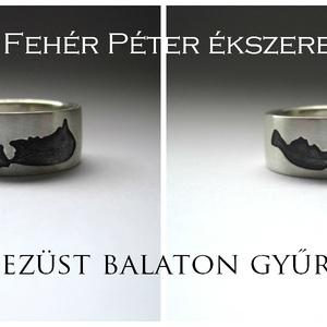 Balaton gyűrű ezüstből (egszeresz) - Meska.hu