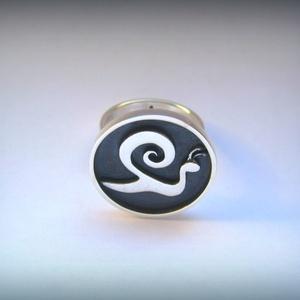 Újdonság! Kapolcs csiga gyűrű (egszeresz) - Meska.hu