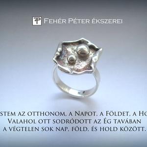 Ismét Föld-Hold gyűrűk a kollekciómban (egszeresz) - Meska.hu