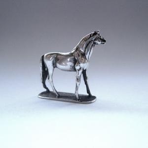 Miniatűr ezüst ló (egszeresz) - Meska.hu