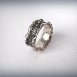 ISMÉT! Ezüst lelet gyűrű. (egszeresz) - Meska.hu