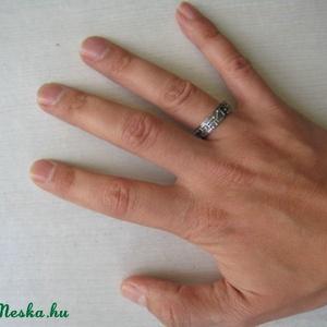 Ezüst áramkör gyűrű (egszeresz) - Meska.hu