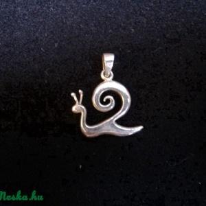 Kapolcs csiga ezüst medál (egszeresz) - Meska.hu
