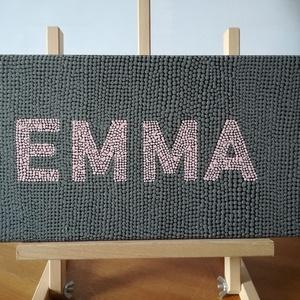 Pontozott akril festmény - EMMA - 20x40 cm  (Eildiart) - Meska.hu