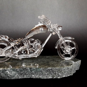 Üveg Chopper (EisemannGlass) - Meska.hu