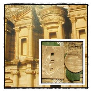 PETRA, Otthon & Lakás, Fürdőszoba, Szappantartó, A nabateusok a jordán sivatag legeldugottabb pontján vésték ki a sziklafalakból Petrát,ezt a varázsl..., Meska