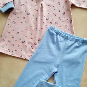 Tunika-leggings szett (86), Ruha & Divat, Babaruha & Gyerekruha, Varrás, Tunika-leggings szett 86-os méretben, mely pamut jerseyből készült., Meska