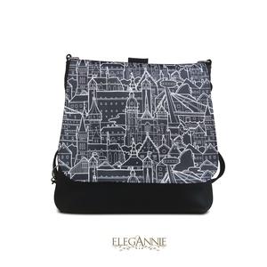 City, Táska & Tok, Hátizsák, Hátizsák, Közepes méretű, többfunkciós táska. Legömbölyített vonalaival és közepes méretével inkább az eleganc..., Meska