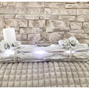 30 cm-es Buddha dekoráció ledvilágítással, Otthon & Lakás, Spiritualitás & Vallás, Mindenmás, Meska