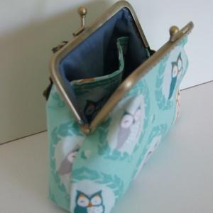 Baglyos pénztárca arcmaszkkal (ElizabethNoll) - Meska.hu