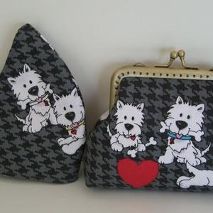 Kutyusos pénztárca arcmaszkkal (ElizabethNoll) - Meska.hu