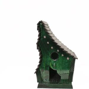 Smaragd  hotel madárház, Állatfelszerelések, Lakberendezés, Otthon & lakás, Madár kellékek, Kerti dísz, Famegmunkálás, Különleges és teljesen egyedi alkotás, melyet máshol nem lehet kapni. Egyedi tervezésű madárotthon. ..., Meska
