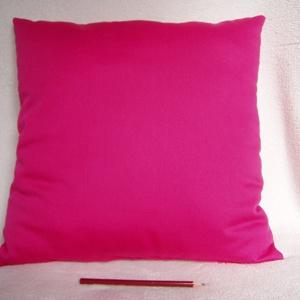 Díszpárna pink, Lakberendezés, Otthon & lakás, Lakástextil, Párna, Varrás, Ezt a díszpárnát a kihívás, a feltűnés ihlette,  kellemes tapintású puha, selymes pamut anyagból kés..., Meska