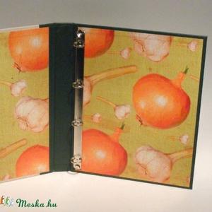 Konyhai mappa, receptgyűjtő, iratgyűjtő konyhába, receptes dosszié, több változatban RENDELHETŐ - Meska.hu