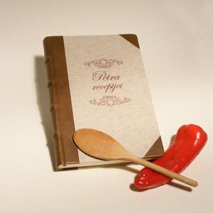 Múltidéző receptgyűjtő könyv, kitölthető recepteskönyv, régies, vintage ajándék ínyenceknek, névreszóló, egyedi címmel, Otthon & Lakás, Konyhafelszerelés, Receptfüzet, Könyvkötés, Papírművészet, Múltidéző receptgyűjtő könyv, kitölthető recepteskönyv, régies, vintage ajándék ínyenceknek, névresz..., Meska