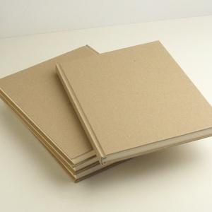 4 db-os csomag: natúr, kemény borítós, díszíthető könyv B/5 méretben. Napló, emlékkönyv, vendégkönyv, Otthon & lakás, Naptár, képeslap, album, Jegyzetfüzet, napló, Könyvkötés, Natúr, kemény borítós, díszíthető könyv 4 db-os csomagban. Csomagolópapír borítással, B/5-ös méretű...., Meska
