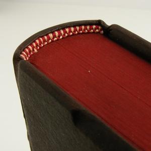 Régies bőr napló, kisméretű könyv hagyományos kötéssel. Különböző színekben rendelhető (enciboltja) - Meska.hu