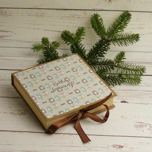 Karácsonyi levélpapírok dobozban. Borítékok karácsonyra díszdobozzal, karácsonyi ajándék, karácsonyi üdvözlet szettben, Otthon & Lakás, Karácsony & Mikulás, Karácsonyi képeslap, Könyvkötés, Papírművészet, Karácsonyi levélpapírok dobozban. Borítékok karácsonyra díszdobozzal, karácsonyi ajándék, karácsonyi..., Meska