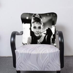 Art deco Audrey Hepburn, Bútor, Otthon & lakás, Szék, fotel, Lakberendezés, Mindenmás, Festett tárgyak, Egyedi tervezésű Art deco fotel ,amely kiválóan mutat a hálószobánkban. A fotel fa része feketére le..., Meska