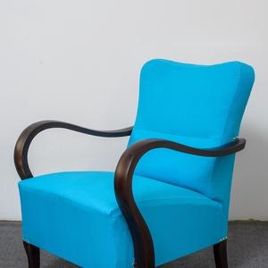 Art deco türkiz fotel (Endredidesign) - Meska.hu