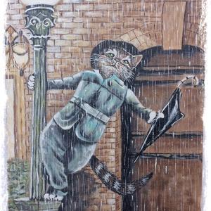 Ének az esőben.Gene Cat. (entera) - Meska.hu