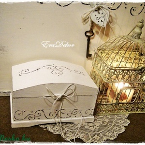 Keresztelőre vagy esküvőre  ajándék doboz  (Eradekor) - Meska.hu