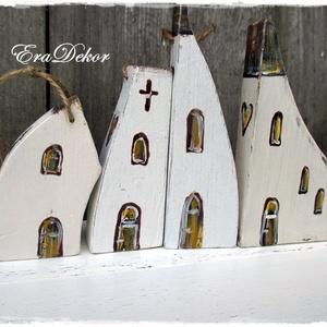 Vintage házak  (Eradekor) - Meska.hu