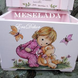 Játéktároló meseláda  (Eradekor) - Meska.hu