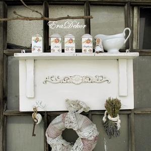 Vintage fűszertartó polc (Eradekor) - Meska.hu