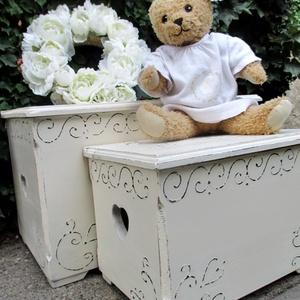 Vintage láda esküvőre, keresztelőre  (Eradekor) - Meska.hu