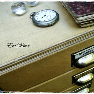 Vintage irattartó, fiókos szekrény (Eradekor) - Meska.hu
