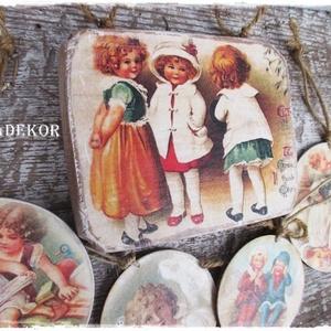 Vintage karácsonyi díszek (Eradekor) - Meska.hu