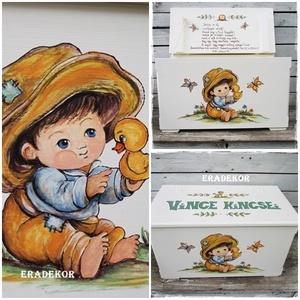 Az én meseládám a keresztelőmre - játék & gyerek - 3 éves kor alattiaknak - Meska.hu