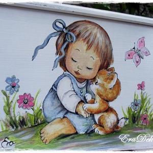 A cica és a kislány meséje - Meska.hu