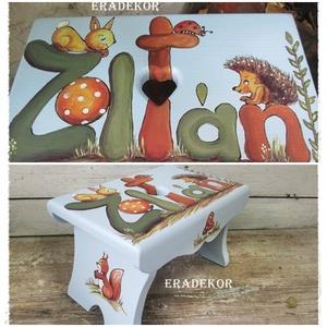 Az erdő állatai és a labda meséje, Játék & Gyerek, 3 éves kor alattiaknak, Festett tárgyak, Meska