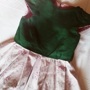 Rózsakert - kislányruha - Bársony ruha  (Erikaboltja) - Meska.hu