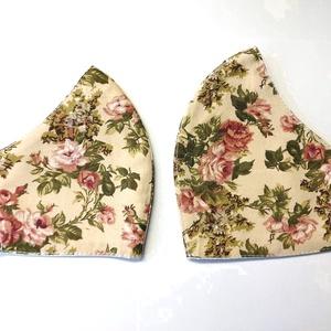 Amya-Lánya Virág mintás Textil mosha tó maszk, arcmaszk, szájmaszk , Táska, Divat & Szépség, Szépség(ápolás), Maszk, szájmaszk, Varrás, Dupla rétegű 100% pamutvászonból készült. A külseje mintás, a belő fele fehér.\nTermészetesen varrás ..., Meska