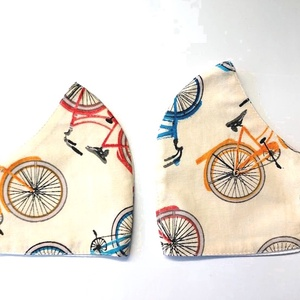 Apa-Fia Biciklis mintás Textil mosha tó maszk, arcmaszk, szájmaszk , Táska, Divat & Szépség, Szépség(ápolás), Maszk, szájmaszk, Varrás, Dupla rétegű 100% pamutvászonból készült. A külseje mintás, a belő fele fehér.\nTermészetesen varrás ..., Meska