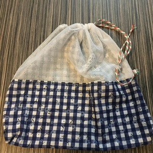 Környezetbarát textil-hálós zsák, Zöldség/Gyümölcs zsák, Bevásárlás & Shopper táska, Táska & Tok, Varrás, Környezetbarát-újrafelhasznált-öko vonalat követve: a textil szalvéta, textil bevásárló táska, kenye..., Meska
