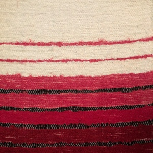 piros, natur csíkos, puha, vastag szőnyeg (erikj) - Meska.hu