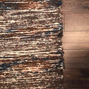 barna-kék cifra szőnyeg (erikj) - Meska.hu