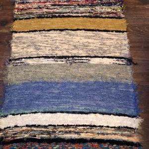 színes csíkos, puha szőnyeg (erikj) - Meska.hu