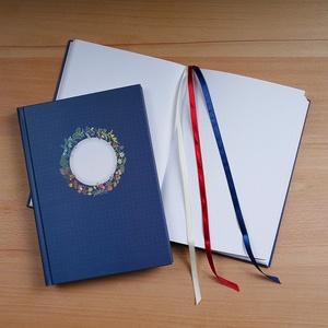 Pöttyös tervező Bullet Journál készítéséhez, Otthon & Lakás, Papír írószer, Naptár & Tervező, Könyvkötés, Fotó, grafika, rajz, illusztráció, Szervezd meg a jövő évet! Vezess egyszerre naptárat, tervezőt, naplót! A Lemmashop egyedi, Bullet Jo..., Meska