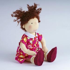 Waldorf baba Textil baba, Gyerek & játék, Játék, Baba játék, Baba-és bábkészítés, Horgolás, A Lemmashop kínálata bővült!\nWaldorf babák készítésébe kezdtem, mert tudom és hiszem, hogy a termész..., Meska