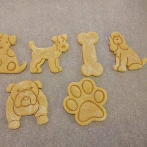Kutya, kutyás (angol bulldog) keksz, sütemény kiszúró forma (esztergaal) - Meska.hu