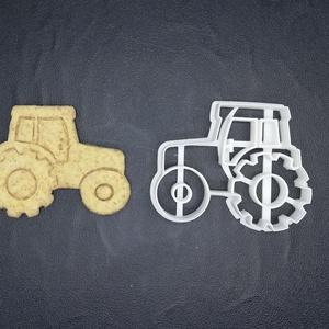 Traktor keksz, sütemény kiszúró forma, Otthon & lakás, Konyhafelszerelés, Egyéb, Mézeskalácssütés, Mindenmás, 3D nyomtatással készült traktoros kekszkiszúró.\nLegnagyobb mérete kb 7 cm.\nSzemélyes átvétel Martonv..., Meska