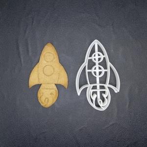 űrhajó keksz, sütemény kiszúró forma, Sütikiszúró, Konyhafelszerelés, Otthon & Lakás, Mézeskalácssütés, Mindenmás, 3D nyomtatással készült űrhajós kekszkiszúró.\nLegnagyobb mérete kb 7 cm.\nSzemélyes átvétel Martonvás..., Meska